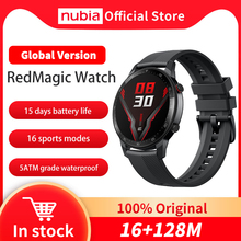 Nubia – montre connectée RedMagic, écran AMOLED de 1.39 pouces, moniteur de fréquence cardiaque et doxygène dans le sang, 16 modes sportifs, GPS, Version globale