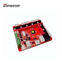 ZONESTAR ZRIBV6 Neueste 3D Drucker Control Board Motherboard Controller Kompatibel Mit Rampen V 1 4 ATMEGA2560 Vier Extruder-in 3D Druckerteile & Zubehör aus Computer und Büro bei