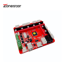ZONESTAR  ZRIBV6 Newest 3D Printer Control Board Motherboard Controller Compatible With Ramps V1.4 ATMEGA2560 Four Extruders 3d printer control board gt2560 support dual extruder power than atmega2560 ultimaker 3