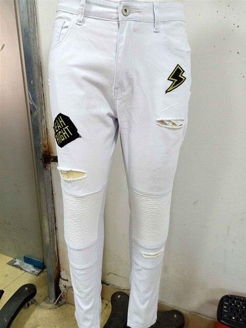 Skinny Pleated Jeans 6