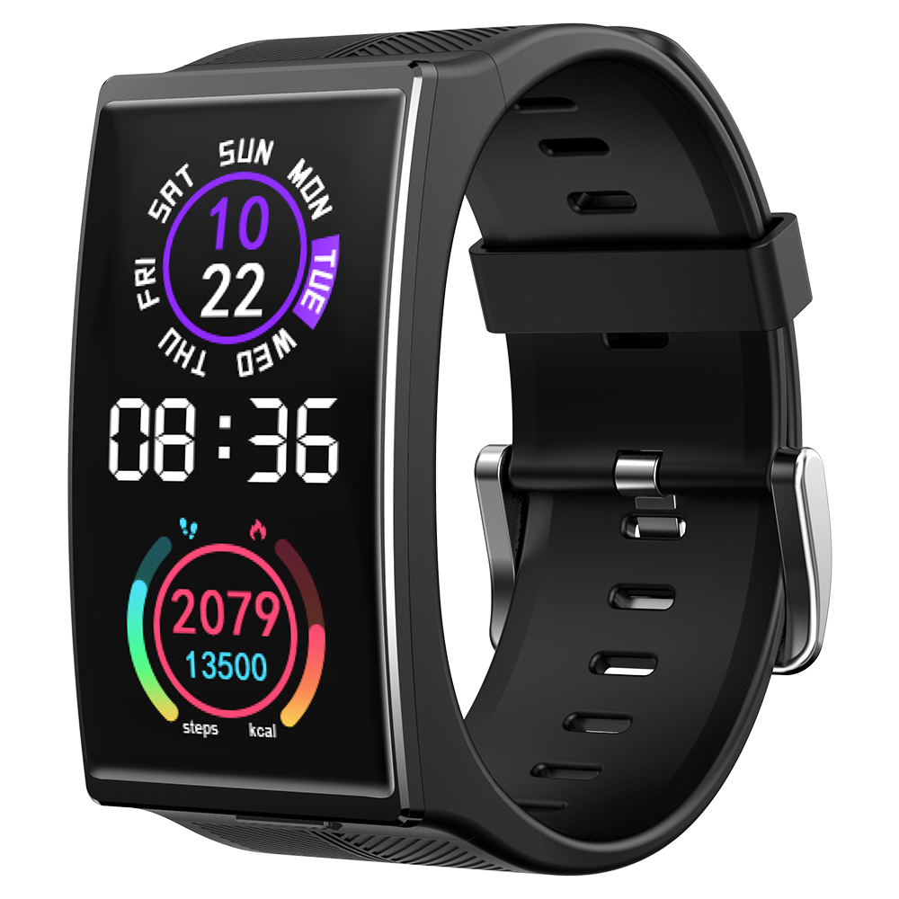 2021 New TICWRIS GTX Men Smart Watch 300mAh Bluetooth Waterproof Blood Pressure Sport Watch Fitness Bracelet For Android IOS