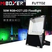 Miboxer FUTT02 50W RGB CCT LED Floodlight AC100~240V waterproof IP65 led Outdoor Light Garden Lamp Pulic Archittectural Light