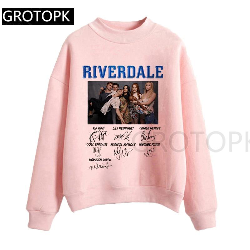 Riverdale Harajuku Snake Girl Female Sweatershirt Harajuku Tops Cartoon Women Hoodies Clothes 2019 Streetwear Hip Hop Hoodie