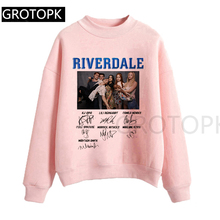 Riverdale Harajuku Snake Girl Female Sweatershirt Harajuku Tops Cartoon Women Hoodies Cloth