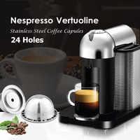 Enlace VIP para la cápsula de filtros de café reutilizables recargables de acero inoxidable de Delonghi ENV150