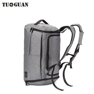 Image 4 - Men Travel Bag Anti Theft Password lock Waterproof Shoulder Weekend Travelling Duffle Bags Large Capacity Carry on Luggage Bag