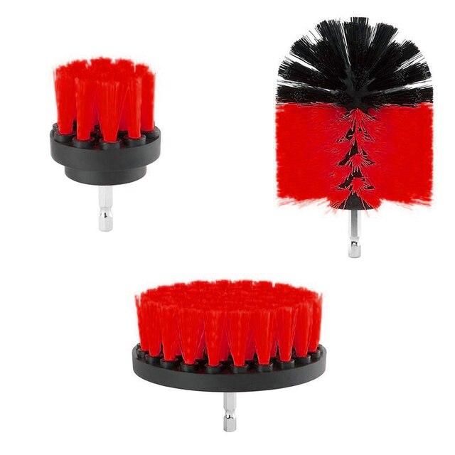 Tegels Borstel Douches Apparatuur 3 Pcs Rotary Badkamer Tool Accessoire Vloeren