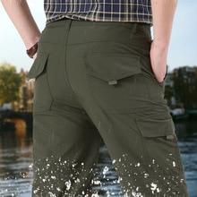 NIGRITY 男性クイックドライ夏軍ミリタリーパンツズボン男性の戦術的なカーゴパンツ男性軽量防水ズボン