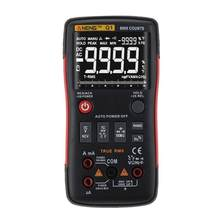 Q1 Digital Multimeter True RMS 9999 Counts Analog Tester Professional Multimetro DIY Transistor Capacitor LCR Multimeter(China)