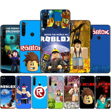 Popular Game ROBLOX Silicone Case For Xiaomi Redmi Note 4X 5 6 7 8 9 Pro Max 8T 9S 5A Prime Back Cover(China)