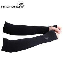 Очень удобная ткань летние спортивные солнцезащитные рукава для кожи ультра-удобные ледяные рукава для рыбалки эфирные солнцезащитные изделия без пальцев