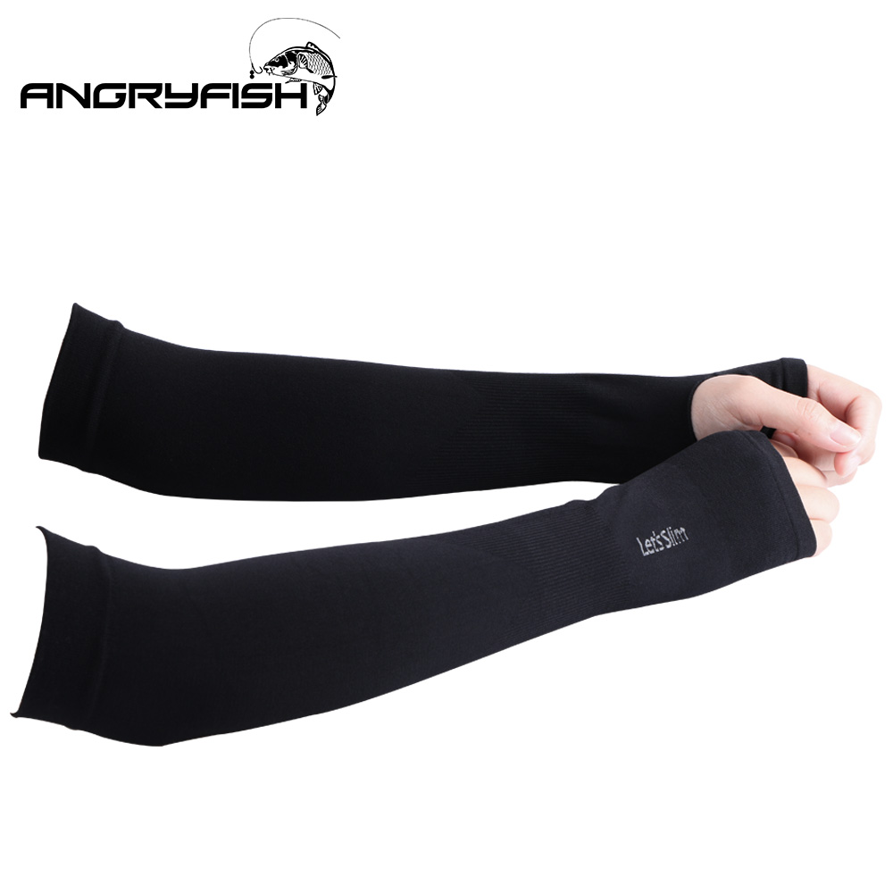 Very Comfortable Fabric Summer Sports Sunscreen Sleeves Skin-friendly Ultra-comfortable Ice Sleeves Fishing Essential Sunscreen Products Fingerless