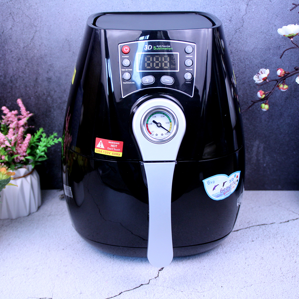 ST 1520 3D Mini Sublimation Vacuum Machine Heat Press Machine For Phone Cases Heat Press Machine Mug Cell Phone Case Printer Cup