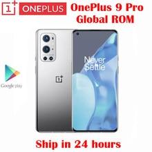 Original Neue Offizielle Oneplus 9 Pro 5G Smartphone Snapdragon 888 6,7 zoll LTPO AMOLED 120Hz 50MP + 48MP + 8MP + 2MP Quad Kameras NFC