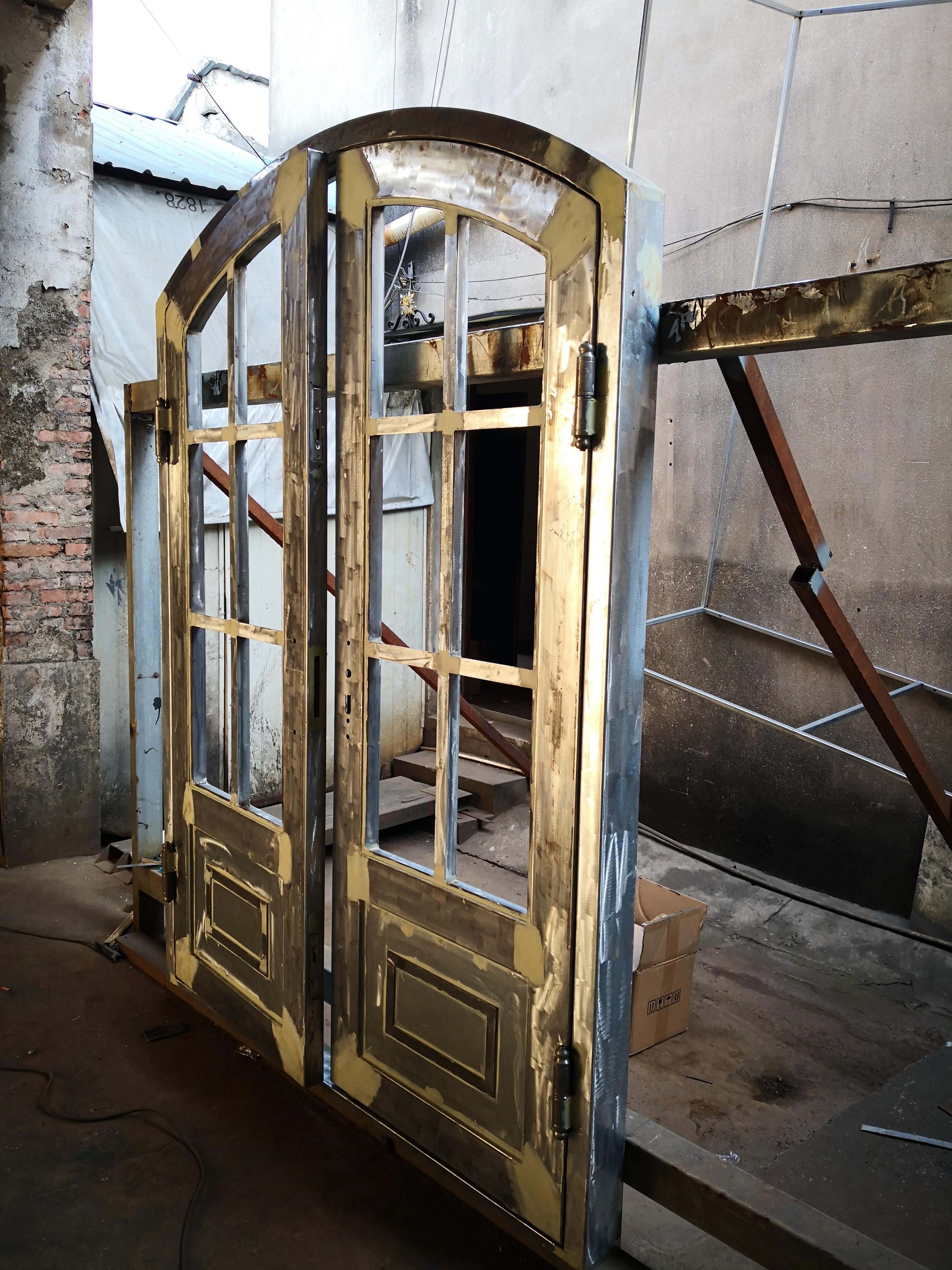 Shanghai Hench Brand China Factory 100% Custom Made Sale Australia Wrought Doors
