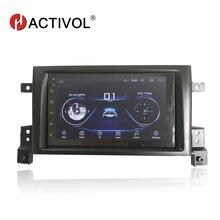 Hactivol 2 din araba aksesuarları için araba radyo stereo SUZUKI Grand Vitara Nomade 2005-2011 araba DVD OYNATICI gps navi araba sticker