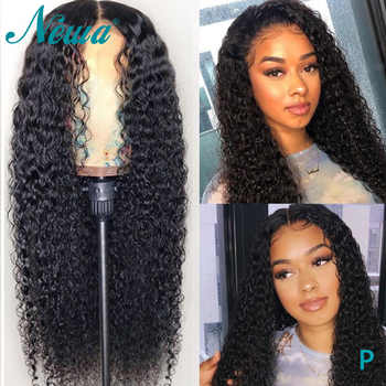Newa Hair 360 Lace Frontal Wig Brazilian Curly Lace Frontal Human Hair Wigs Pre Plucked With Baby Hair Remy Wigs For Black Women - DISCOUNT ITEM  45% OFF All Category
