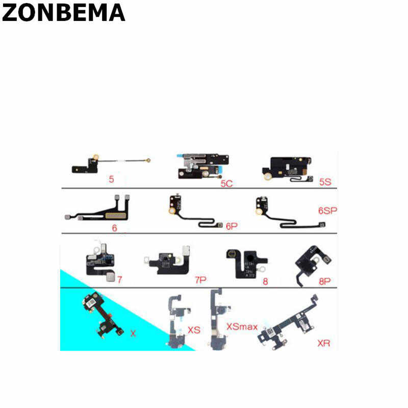 Zonbema Originele Voor Iphone 5 5S 6 6S 7 8 Plus X Xs Xr Max Signaal Wifi Antenne lint Draad Connector Flex Kabel Lint