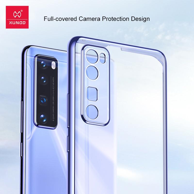 For Huawei Nova 7 SE Case Xundd Transparent Soft Tpu Back Fitted Protective Plating Matte Fashion For Nova7 SE Case,Phone Case