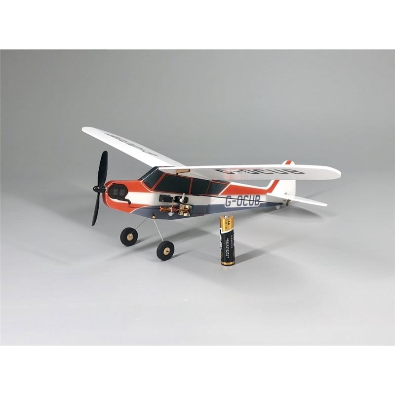 Hot Sale J3-Cub MinimumRC Bankyard Flyer 360mm Wingspan Remote Control Toys RC Airplane KIT/PNP RC Toys For Kids Children Gift