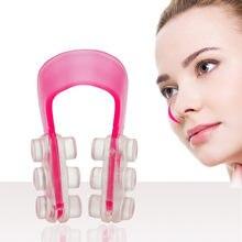 2 pçs moda nariz up shaper levantamento ponte endireitamento beleza nariz clip face fitness facial clipper corrector ferramentas