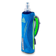 3 Color Profession 500ml Folding Collapsible Soft Kettle Bag Bottle for Runninng Jogging Hydration Pack Vest A