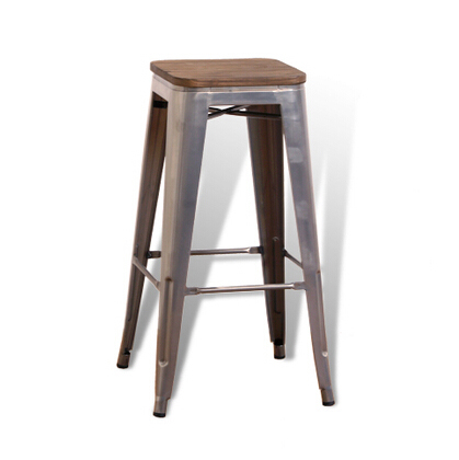 Nordic Iron Art Simple Modern Industrial Style Metal Bar Chair Table    Stool  High