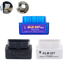 OBD2 Car Scanner Diagnostic Tool For Ford Fiesta ST Focus 2 3 V2.1 ELM327 Interface Bluetooth OBDII Scanner Car Diagnostic Tools latest v168 re na ult can clip obd2 diagnostic interface for re na ult auto scanner diagnostic tool can clip 3 pack dhl free