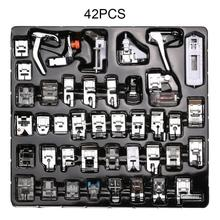 11//32/42pcs Metal Presser Foot Set Presser Foot Press Feet For Brother Singer Janome Sew Kit Sewing Machine  Accessories 62pcs mini sewing machine presser foot feet for brother singer janome presser feet braiding blind stitch darning accessories