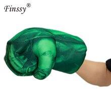 1 пара 30 см Мстители эндгейм невероятная фигурка супергероя игрушка Халк боксерские перчатки подарок для мальчика подарок на Хэллоуин перчатки-блокшив