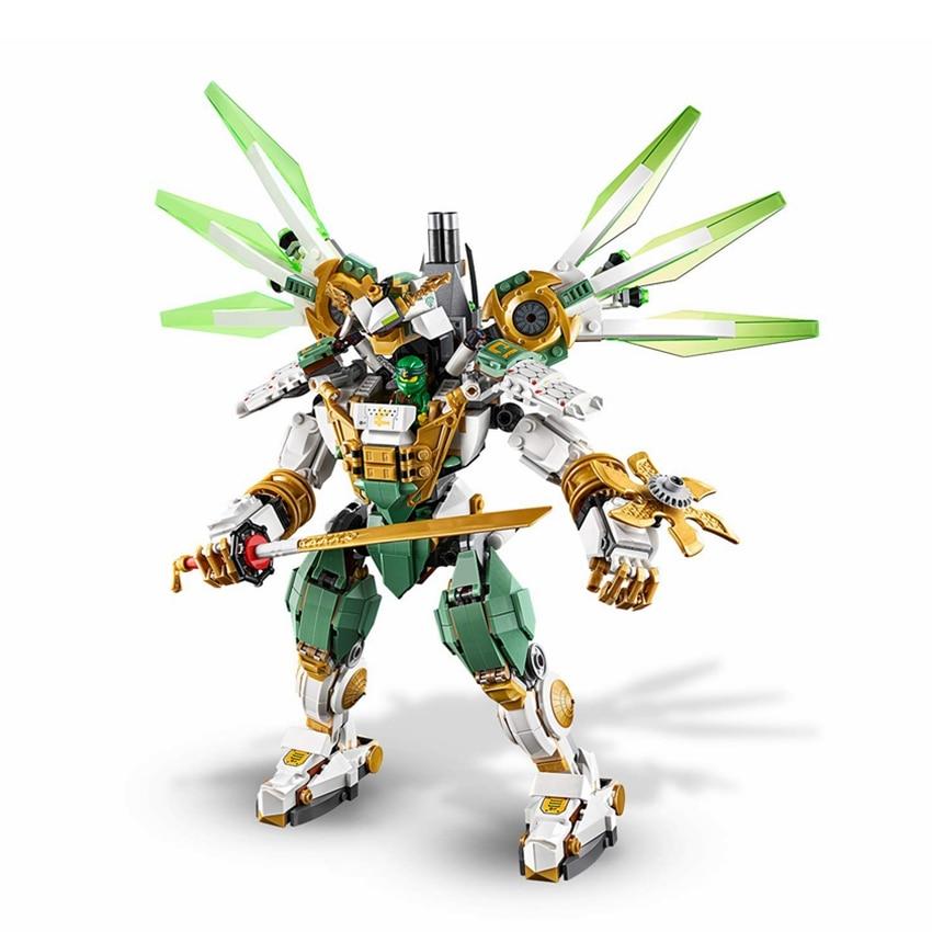 Compatible With 70676 Ninja Series Lloyd's Titan Mech Robot Building Blocks Bricks Model Kids City Classic Toys Marvel Movie