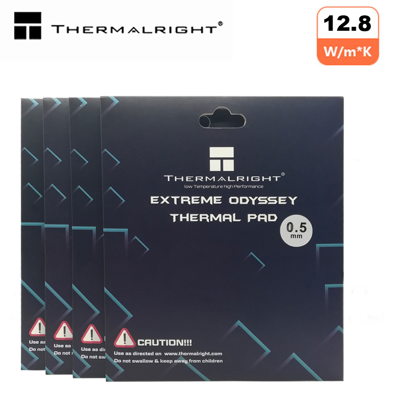 Thermalright Thermal Pad 120X120mm 12.8 W/mK 2.0mm 1.5mm 1.0mm 0.5mm  High Efficient Thermal Conductivity Original Authentic