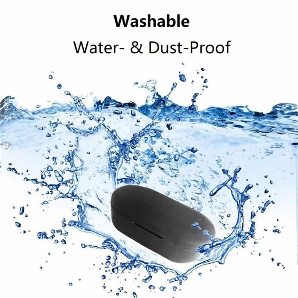 T2C ため QCY/T2S 防水ワイヤレス Bluetooth イヤホンシリコンカバー保護
