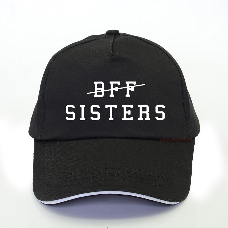 BFF SISTERS Letter Print Women Baseball Cap 2020 Summer Women Harajuku Pop Snapback Hat Gorras Hombre