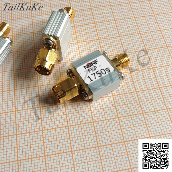 SAW Bandpass Filter For 1750MHz UMTS/AWS System, 1dB Bandpass 1710-1785MHz