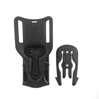Kit de sistema de bloqueo rápido táctico QLS para Glock 17, HK USP Compact M92F, adaptador de cartuchera, funda, paleta de la cintura, accesorios de caza