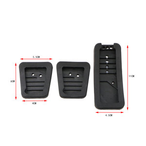 Image 5 - Stainless Steel Car Pedal Pad Cover AT MT Pedals for Mitsubishi ASX Outlander Lancer EX Eclipse Cross Pajero RU