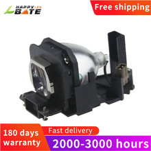 Happybate ET LAX100 PT AX100ためのハウジングと交換用プロジェクターランプ; PT AX100E PT AX200ランププロジェクタ180日保証