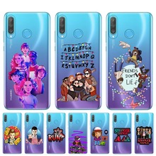 Hot TV Stranger Things Pattern Soft TPU Phone Case For Coque Huawei P30 P20 Lite