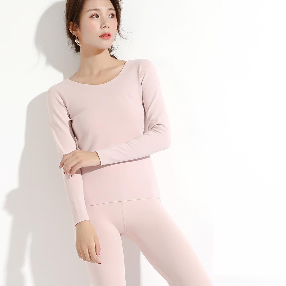 2019 New Winter Thermal Underwear  Warm Intimates  Long Johns Women Set 1343