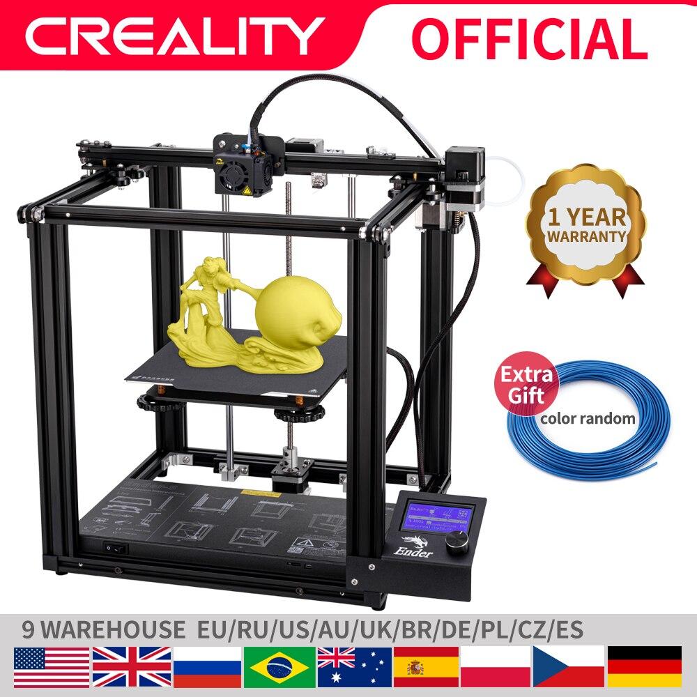 Creality 3D プリンタ creality Ender 5 ランディと安定した電力、磁気構築プレート、電源オフ再開 -