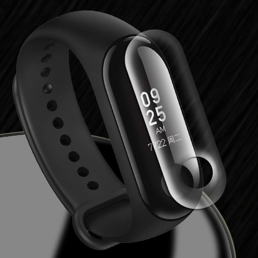 Screen Protector Film For Xiao Mi Band 2/3 Intelligent Cover Bracelet Full Untempered Bracelet Protective Glass Films