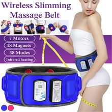 Wireless Electric Slimming Belt Lose Weight Fitness Massage X7 Times Sway Vibrat