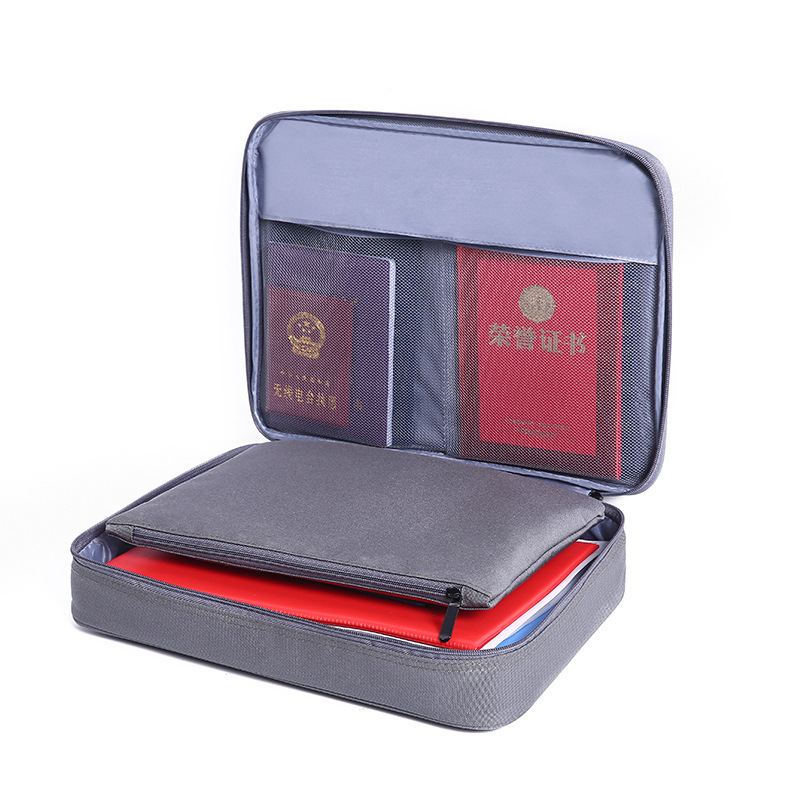 JULY'S SONG Oxford Business Briefcase Bag Men's Document IPAD Electronic Storage Document Pouch Organizer Case Accessories