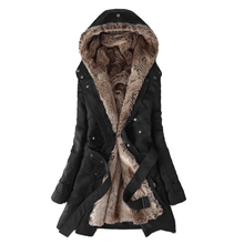 Autumn Women Winter Coats Slim Long Jackets Parka