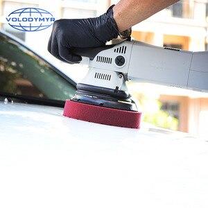 Image 5 - وسادات تلميع للسيارة ، نوع سداسي مع خطاف وحلقة 6 بوصات ، تعمل مع ملمع السيارة