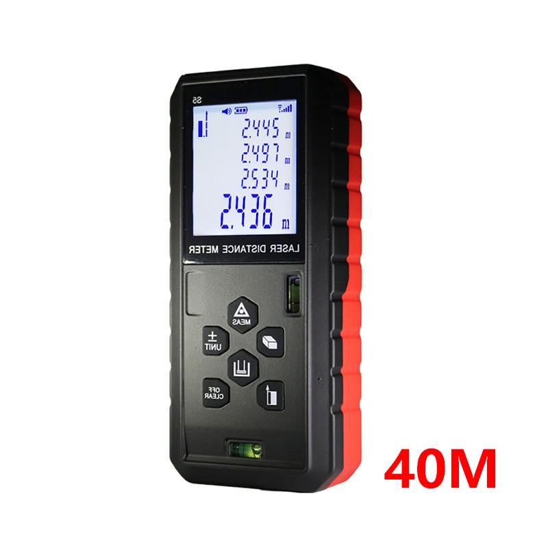 Laser Distance Meter 40M Laser Rangefinder Medidor Trena Laser Measure Tape Laser Rangefinders Range Finder Measure Rangefinders