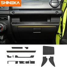 Shineka интерьер автомобиля из углеродного волокна центральной