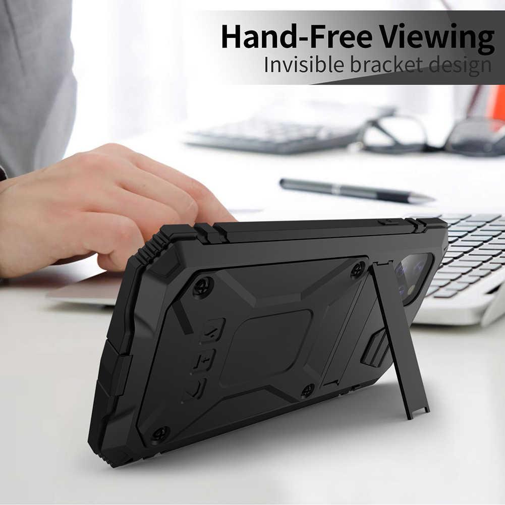 Metalen 360 Volledige Bescherm Armor Case Voor Iphone 11 Case Funda Coque Voor Iphone Xs Xr 11 Pro Max Telefoon case Cover Shockproof Houder
