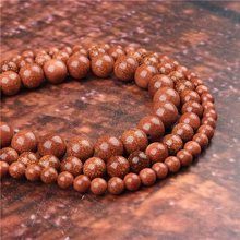 Fashion Sands Round Beads Loose Jewelry Stone 4/6/8/10 / 12mm Suitable For Making Jewelry DIY Bracelet Necklace